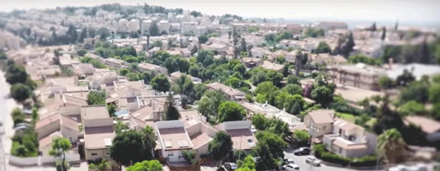 מודרני מפת אזור שומרון | כל היישובים במועצה איזורית שומרון CJ-74